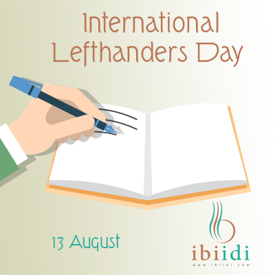International Left handers Day- 2018